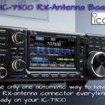 IC-7300 RX-Antenna Board